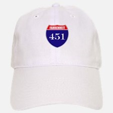 Fahrenheit Route 451 Baseball Baseball Cap