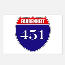 Fahrenheit Route 451 Postcards (Package of 8)