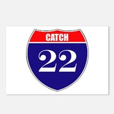 Catch 22 Route Postcards (Package of 8)