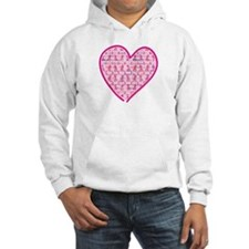 Lets Cure Cancer Heart Hoodie