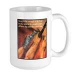 Strength of the Lord Large Mug