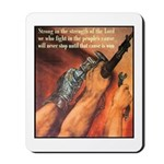 Strength of the Lord Mousepad