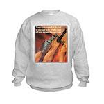 Strength of the Lord Kids Sweatshirt