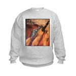 Strength of the Lord (Front) Kids Sweatshirt