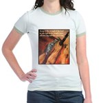 Strength of the Lord Jr. Ringer T-Shirt