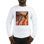 Strength of the Lord (Front) Long Sleeve T-Shirt