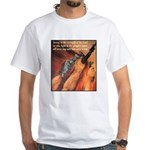 Strength of the Lord White T-Shirt
