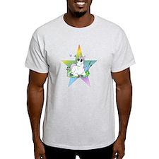 Unicorn with Star T-Shirt