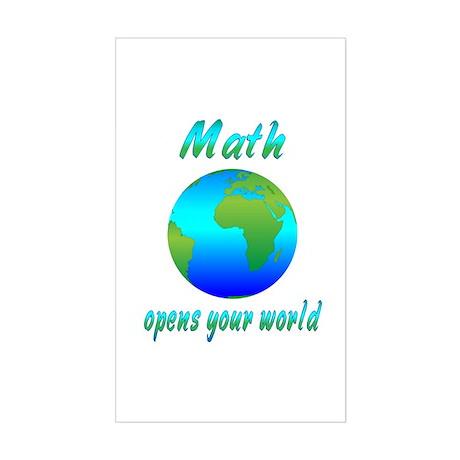 Math Sticker (Rectangle)