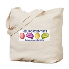 Cute Neuroscientist Tote Bag