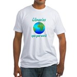 Libraries Fitted T-Shirt