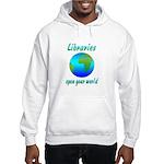 Libraries Hooded Sweatshirt
