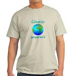 Libraries Light T-Shirt