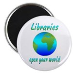 Libraries Magnet
