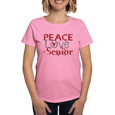 Peace Love Senior Tee