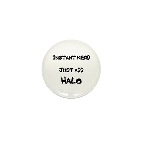 Instant Nerd - Just Add Halo Mini Button (100 pack