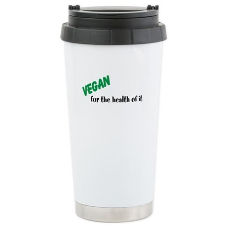 vegan for the health of it Stainless Steel Travel