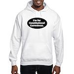 I'm for Constitutional Correc Hooded Sweatshirt