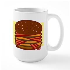 Bacon Quad Cheeseburger Mug