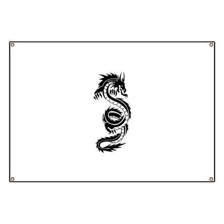 Tribal Dragon Coil Banner
