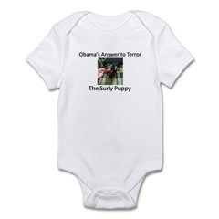 The Surly Puppy Infant Bodysuit