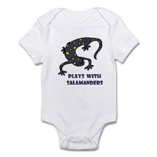 Plays With Salamanders Infant Creeper