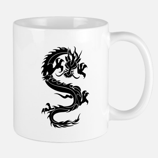 Tribal Dragon Old Mug