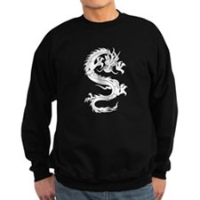 Tribal Dragon Old Sweatshirt