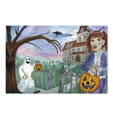 Unique House haunted Postcards (Package of 8)