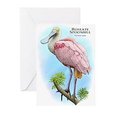 Roseate Spoonbill Greeting Cards (Pk of 20)