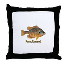 Pumpkinseed Sunfish Throw Pillow