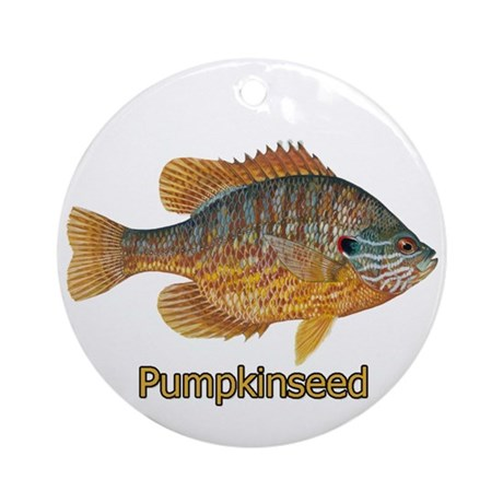 Pumpkinseed Sunfish Ornament (Round)