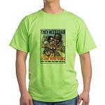 Plant More Beans Poster Art Green T-Shirt