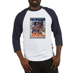 Plant More Beans Poster Art (Front) Baseball Jerse