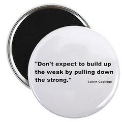 Calvin Coolidge Quote Magnet