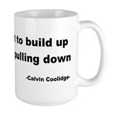 Calvin Coolidge Quote Mug