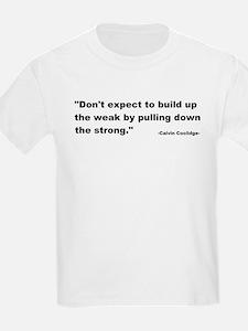 Calvin Coolidge Quote T-Shirt