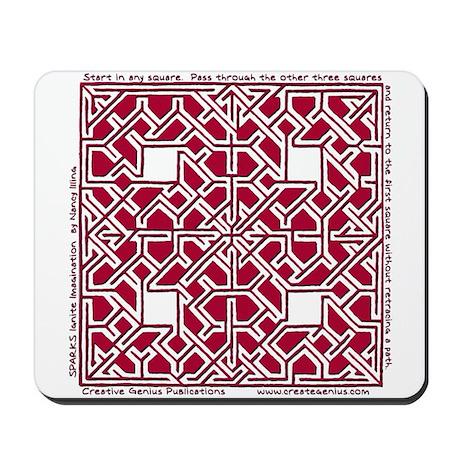 A-Mazing Maze Mousepad
