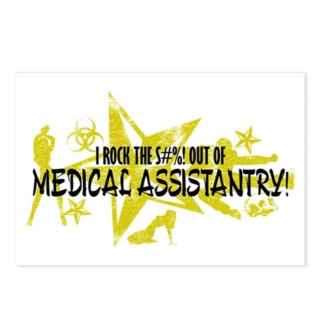 I ROCK THE S#%! - MEDICAL ASSISTANTRY Postcards (P