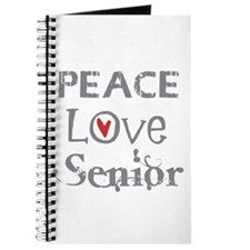 Peace Love Senior Class Journal