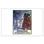 Fight for Liberty Poster Art Large Poster