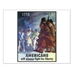 Fight for Liberty Poster Art Small Poster