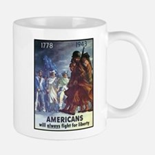 Fight for Liberty Poster Art Small Small Mug