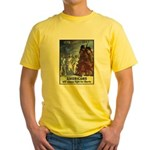 Fight for Liberty Poster Art (Front) Yellow T-Shir