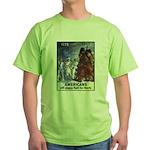 Fight for Liberty Poster Art Green T-Shirt