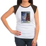 Fight for Liberty Poster Art Women's Cap Sleeve T-