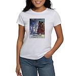 Fight for Liberty Poster Art Women's T-Shirt