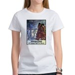 Fight for Liberty Poster Art (Front) Women's T-Shi