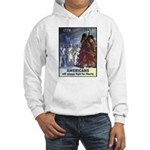 Fight for Liberty Poster Art (Front) Hooded Sweats