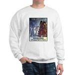 Fight for Liberty Poster Art (Front) Sweatshirt